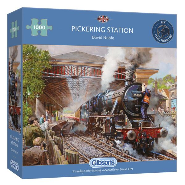 Pickering Station 1000 Piece Jigsaw Puzzle - Gibsons