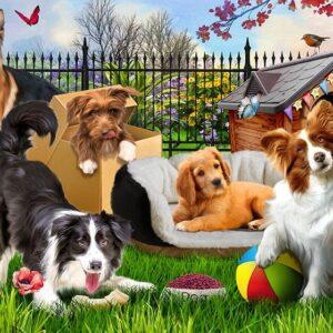 Puppy Love 100 Piece Jigsaw Puzzle - Funbox