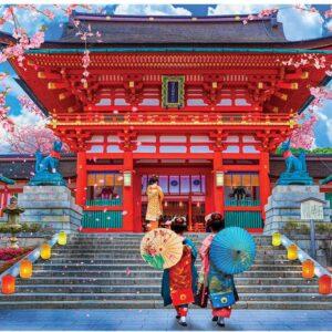 Spring Sakura 1000 Piece Jigsaw Puzzle - Eurographics