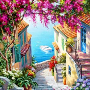 Stairs to the Sea 1000 Piece Jigsaw Puzzle - Anatolian