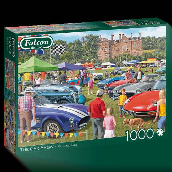 The Car Show 1000 Piece Jigsaw Puzzle - Falcon de Luxe