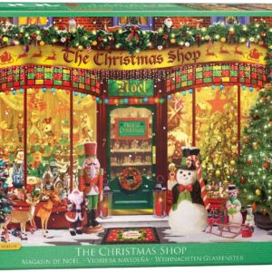 The Christmas Shop 1000 Piece Jigsaw Puzzle - Eurographics