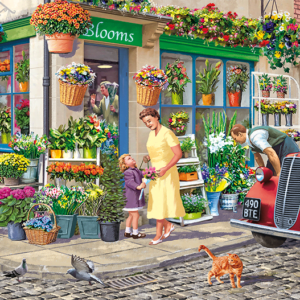 The Florist 1000 Piece Jigsaw Puzzle - Falcon de luxe