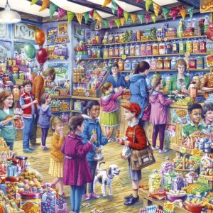 The Old Sweet Shop 1000 Piece Jigsaw Puzzle - Gibsons
