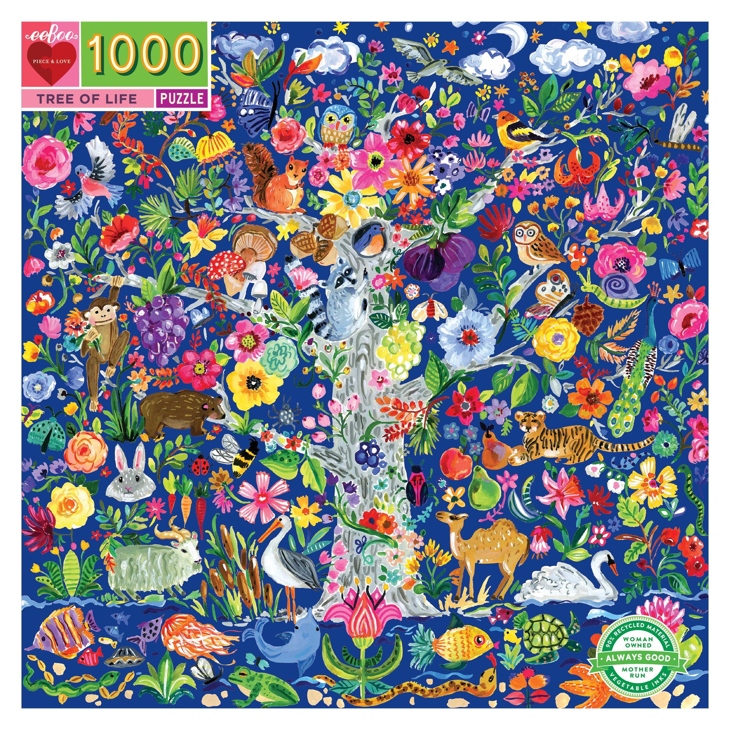 Tree of Life 1000 Piece Puzzle - eeBoo