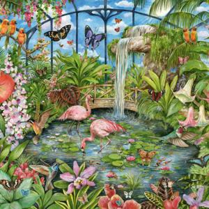 Tropical Conservatory 1000 Piece Jigsaw Puzzle - Falcon de luxe
