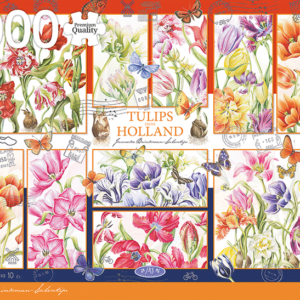 Tulips from Holland 1000 Piece Jigsaw Puzzle - Jumbo