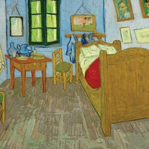 Van Gogh - Bedroom in Arles (Third Version) 1000 Piece Jigsaw Puzzle - Eurographics