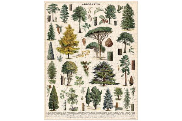 Vintage Puzzle - Arboretum 1000 Piece - Cavallini & co