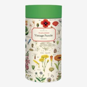 Vintage Puzzle - Wildflowers 1000 Piece - Cavalinni & Co