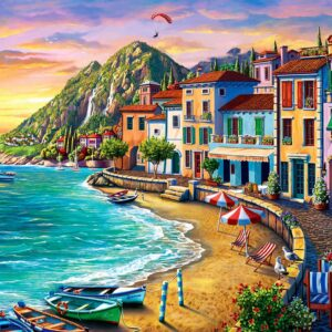 Wonderful Beach 2000 Piece Jigsaw Puzzle - Anatolian