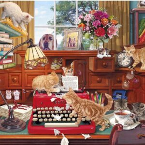 Writers Block 1000 Piece Jigsaw Puzzle - Gibsons