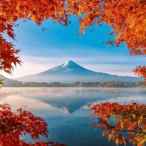 Autumn Splendour at Mount Fuji 1000 Piece Puzzle - Schmidt