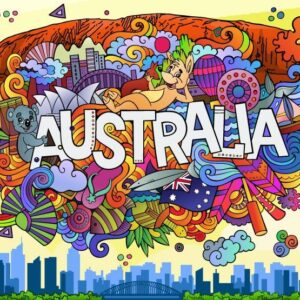 Iconic-Australia 1000 Piece Jigsaw Puzzle - Funbox