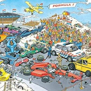 JVH - Formula 1 - The Start 2000 Piece Jigsaw Puzzle - Jumbo