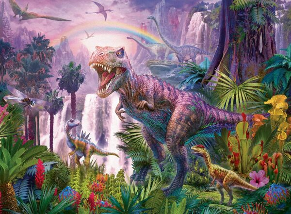 King of the Dinosaurs 200 Piece Jigsaw Puzzle - Ravensburger