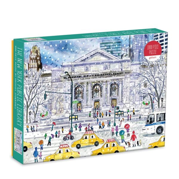 Michael Storrings - New York Public Library 1000 Piece Jigsaw Puzzle - Galison