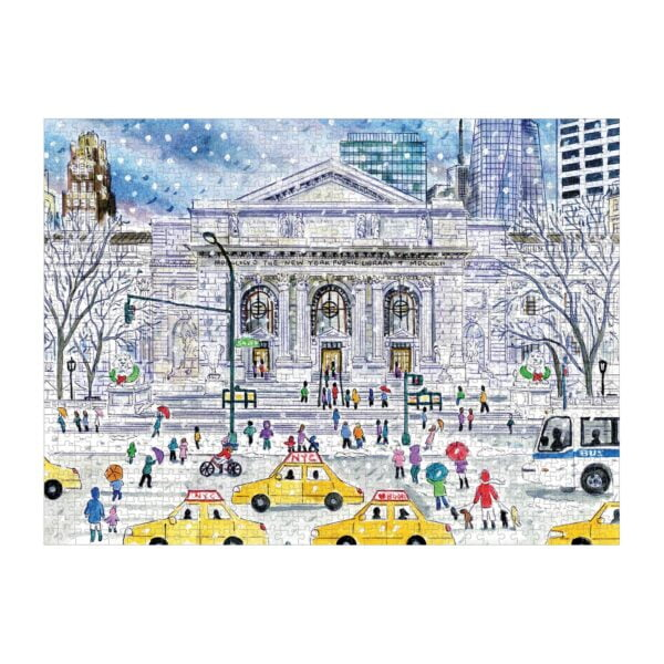 Michael Storrings - Public Library 1000 Piece Jigsaw Puzzle - Galison