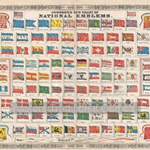 National Flags 1000 Piece Jigsaw Puzzle - Piatnik
