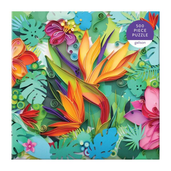 Paper Paradise 500 Piece Jigsaw Puzzle - Galison