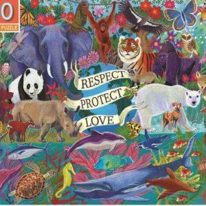 Planet Earth 100 Piece Puzzle - eeBoo