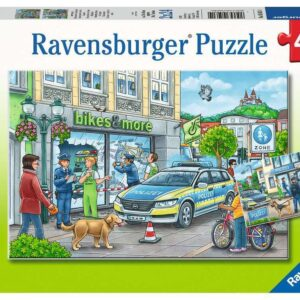 Police at Work 2 x 24 Piece Puzzle - Ravensburger