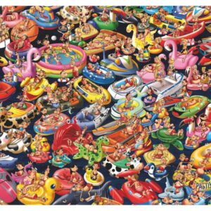 Ruyer - Floating Around 1000 Piece Puzzle - Piatnik