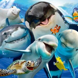 Underwater Friends 200 Piece Jigsaw Puzzle - Schmidt