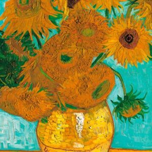Van Gough - Sunflowers 1000 Piece Puzzle - Piatnik