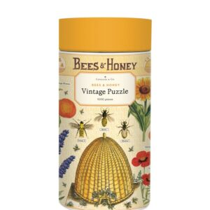 Vintage Puzzle - Bees & Honey 1000 Piece - Cavallini