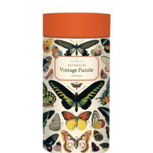 Vintage Puzzle - Butterflies 1000 Piece - Cavallini