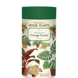 Vintage Puzzle - House Plants 1000 Piece - Cavallini