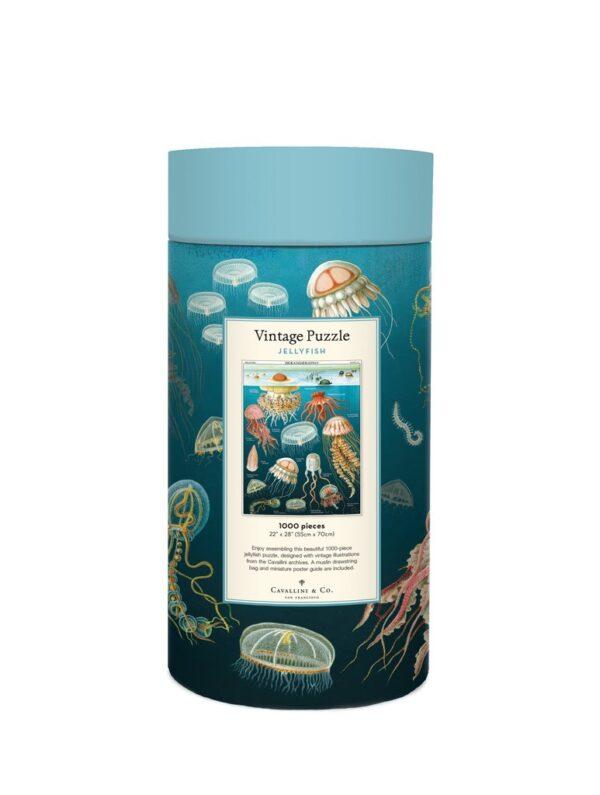 Vintage Puzzle - Jellyfish 1000 Piece - Cavallini