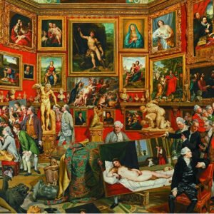 Zoffany - Tribuna of the Uffizi 1000 Piece Puzzle - Piatnik