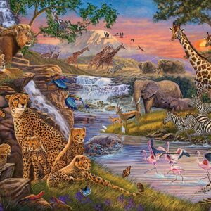 Animal Kingdom 3000 Piece Puzzle - Ravensburger