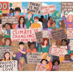 Climate March 100 Piece Puzzle