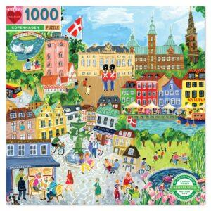 Copenhagen 1000 Piece Puzzle - eeBoo