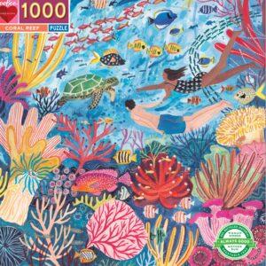 Coral Reef 1000 Piece Puzzle - eeBoo