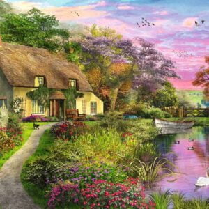 Country House 500 Piece Puzzle - Ravensburger
