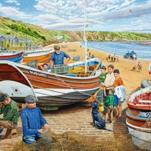 Happy Days at Work - The Fisherman 500 Piece Puzzle - Ravensburger