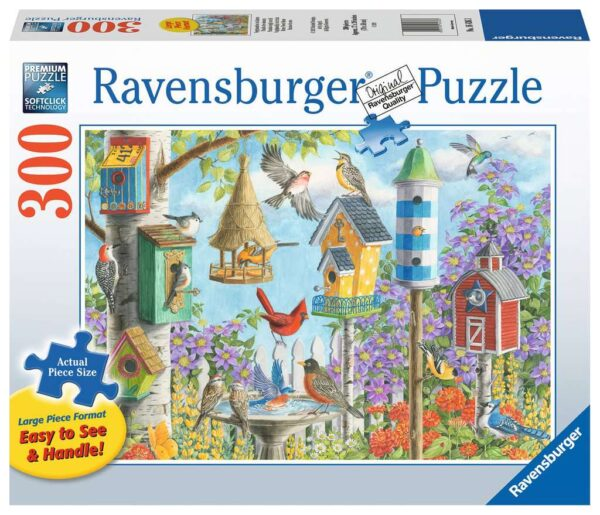 Home Tweet Home 300 Large Piece Format Puzzle - Ravensburger