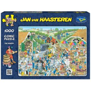 Jan Van Haasteren - The Winery 1000 Piece Puzzle - Holdson
