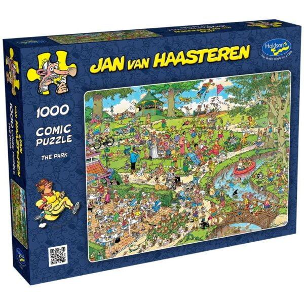 Jan Van Haasteren - The Park 1000 Piece Puzzle - Holdson