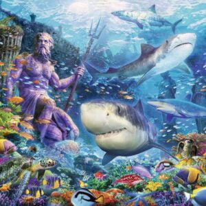 King of the Sea 500 Piece Puzzle - Ravensburger