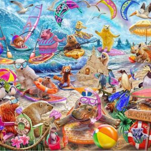 Master of Mania - Beach Mania 1000 Piece Puzzle - Holdson