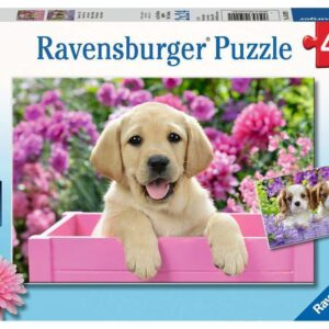 Me and My Pal 2 x 24 Piece Puzzle - Ravensburger