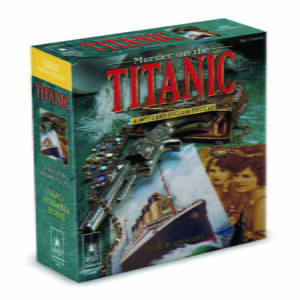 Murder on the Titanic 1000 Piece Mystery Jigsaw Puzzle - Bepuzzled