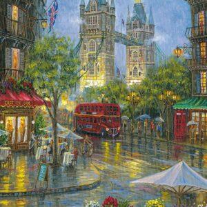 Picturesque London 500 Piece Puzzle - Ravensburger