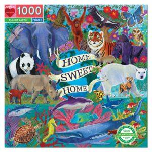 Planet Earth 1000 Piece Puzzle - eeBoo