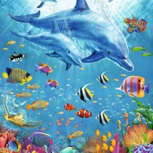 Pod of Dolphins 100 XXL Piece Puzzle - Ravensburger